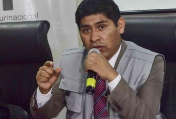 Exvocal Mamani declara  y Fiscalía exigirá su aprehensión