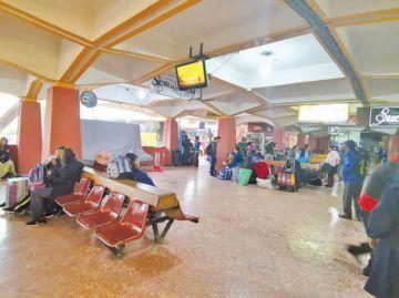 Aún hay escasa demanda de pasajes en terminales
