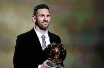 Leo Messi conquista su sexto Balón de Oro