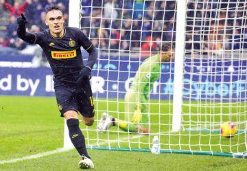 Juventus falla y Lautaro  da el liderato al Inter