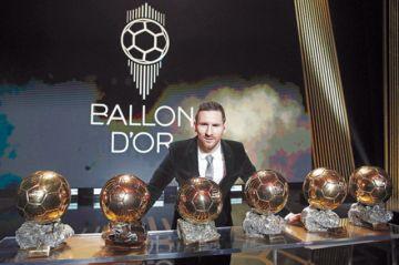 Messi, el jugador que más ganó  el Balón de Oro
