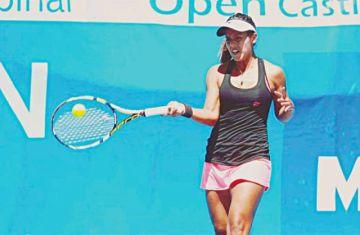 Noelia Zeballos  es subcampeona  en torneo de Grecia