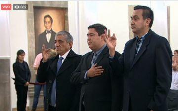 Cambio en Gabinete: Áñez posesiona a Núñez como nuevo Ministro de la Presidencia