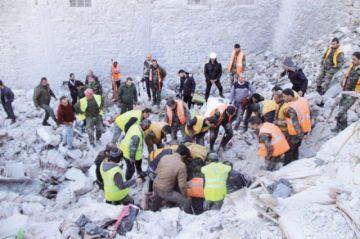 Fallecen más civiles a causa  de guerra en Siria