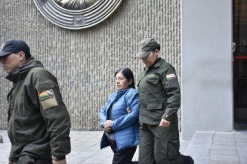 Fiscalía secuestra sobre que dejó expresidenta del TSE en bóvedas del BCB