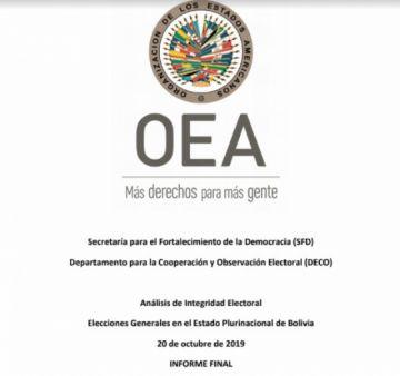 Revisa aquí el informe completo de la auditoría de la OEA