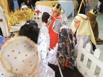Centro infantil adelanta  nacimiento del Niño Jesús