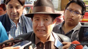 Rafael Quispe asegura que no será candidato para las elecciones de 2020