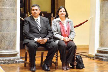Áñez designa a vocales de La Paz y Cochabamba