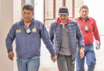 Vocales definen mañana si revocan detención domiciliaria de Esteban Urquizu