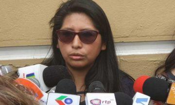 Eva Copa pide resguardo policial para tratar Ley de Garantías