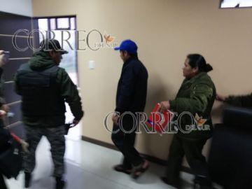 Dictan detención preventiva para Esteban Urquizu