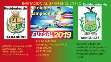 Futsal reúne a residentes