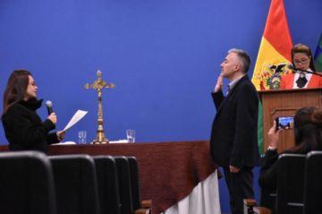 Martín Díaz es el nuevo viceministro de Políticas Comunicacionales