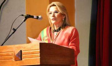 Jeanine Áñez ratifica que no promulgará la Ley de Garantías