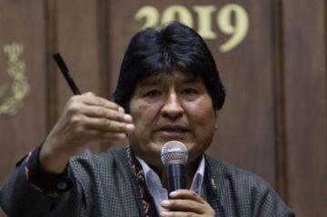 Evo Morales intenta desvirtuar informe final de la OEA
