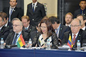 Gobierno desacredita a Evo en la cumbre del Mercosur