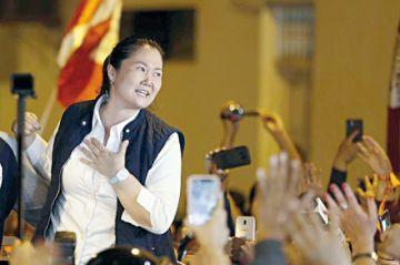 La liberación de Keiko provoca división en Perú