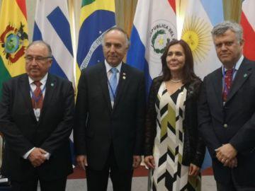 Cancilleres de Bolivia y Chile se reúnen en Brasil