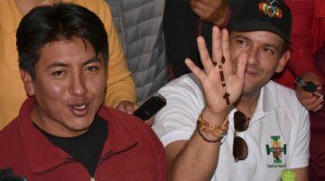 Camacho descarta binomio con Pumari: Él tiene interés de ir a la presidencia