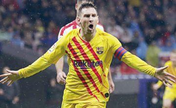 Messi, el mejor de noviembre