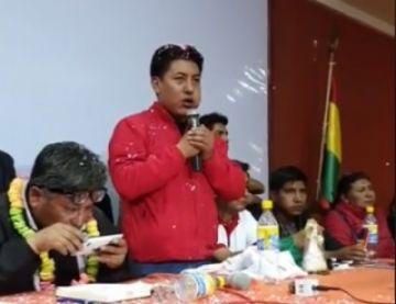 Comcipo pide a Pumari que busque consenso para ser candidato a presidente