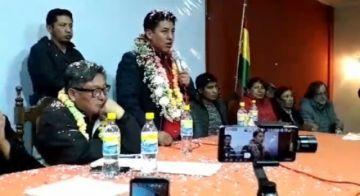 Pumari aún no decide y pide un consenso nacional