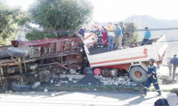 APS reporta un accidente de tránsito cada hora