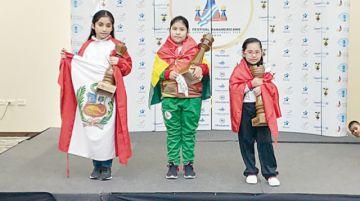 Bolivia campeona de ajedrez
