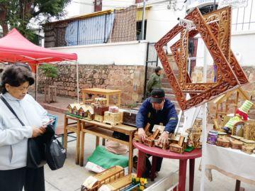 Internos de San Roque ofrecen productos