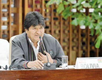 Evo Morales está  a Cuba para una  revisión médica