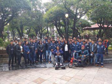 Universitarios adaptan motores a sillas de ruedas