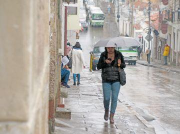 Sucre inicia la semana  con amenaza de lluvia