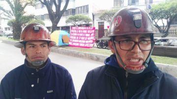 Mineros piden al TCP disponer el retorno a su trabajo tras 4 años de despido injustificado