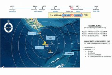 Chile busca contrarreloj avión militar extraviado
