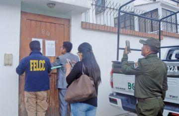 """Allanan la """"casa Evo Morales"""" en Achumani"""