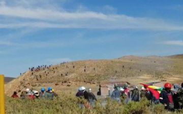 Mineros atacados: Eran francotiradores, las balas llegaron de lejos y de frente
