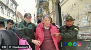 Envían a prisión a exinterventor de Epsas en La Paz