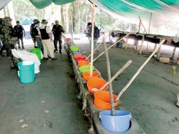 Chiquitos: Destruyen dos laboratorios de cocaína