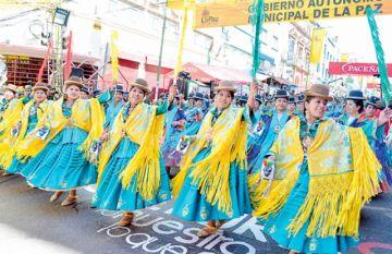 Con el Gran Poder, Bolivia tiene  5 manifestaciones patrimoniales