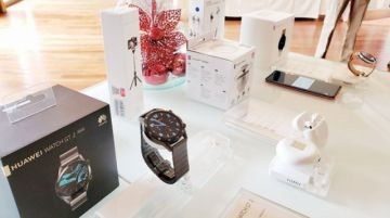 Huawei oferta accesorios y lanza campaña navideña