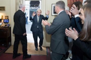 Boris Johnson es investido de nuevo primer ministro del Reino Unido