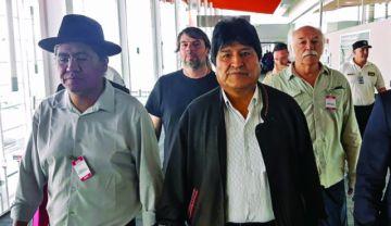 Evo se instalaría en el norte argentino para comandar la campaña del MAS