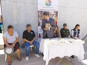 En marcha en San Roque programa Libros por rejas