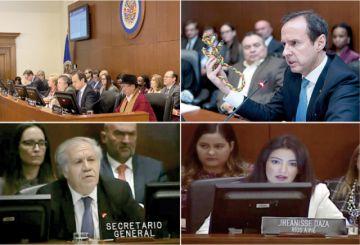 OEA: Escandaloso fraude quiebra versión de golpe
