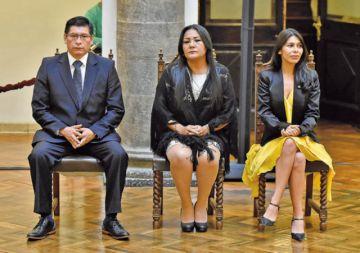 Presidenta designa a tres nuevos vocales electorales