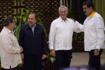 Díaz-Canel, Maduro y Ortega inauguran cumbre por los 15 años de la ALBA