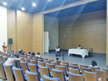 Lectura poética por la paz reúne a 12 líricos
