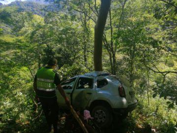 Accidente camino a Monteagudo deja cuatro personas heridas