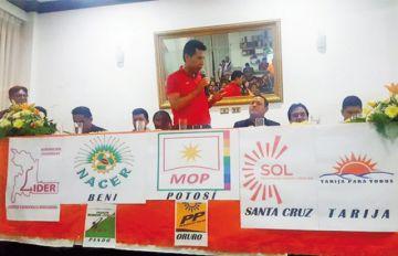 """Fundan la nueva alianza """"Bolivia Unida"""""""
